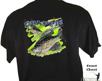 I'm A Crappie Fisherman Fishing Crappy Fish Sportsman Sport T-Shirt