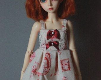 "Dress ""pin-up / lolita"" for MNF / Slim MSD"