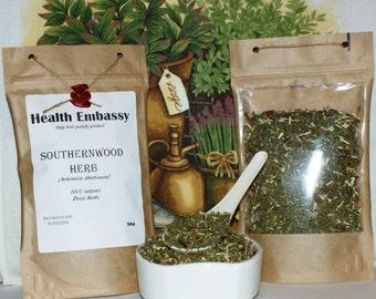 Southernwood Herb (Artemisia abrotanum) 50g - Health Embassy - Organic