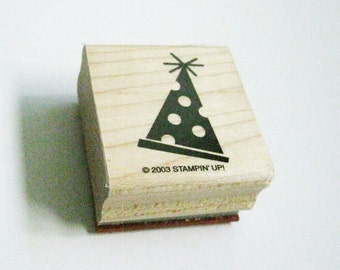 Party Hat Image Craft Rubber Stamp DIY Wood Block Stamp Party Invitation DIY Invitation Card Making DIY Rubber Stamp New Years Party Invite