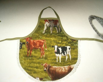 Cow Dish Soap Apron