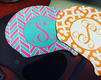 Mouse Pad with Wrist Rest, Mousepad with Gel Pad, Personalized Mouse Pad, Monogram Mousepad,