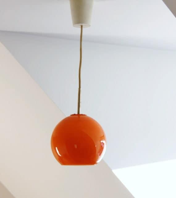 Pendant Lighting Yellow Globe Suspension Chandelier
