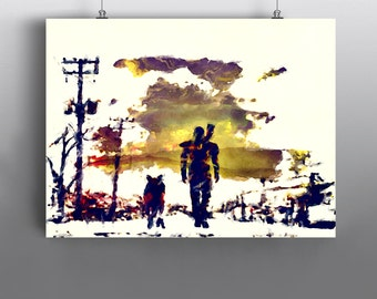Fallout etsy for Fallout 4 canvas painting