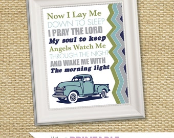 Nursery Wall Printable - Prayer (Glenna Jean Uptown Traffic)