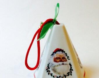 Jasco Potpourri Santa Fragrant Ornament Santa Claus Christmas Ornament Festive Fragrance Pomander Ornaments, Air Freshner, Scented Ornament