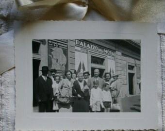Vintage Italian photos.Set of photos. 1937. Collectible. Ephemera. Italian fashion. Italian history. Vintage Italy. Italia.