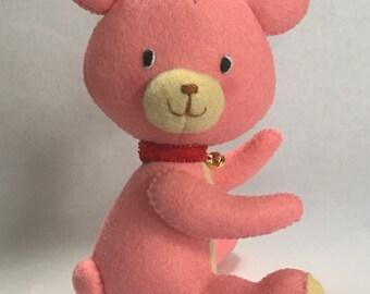 Handmade Vintage Style Teddy Bear soft toy