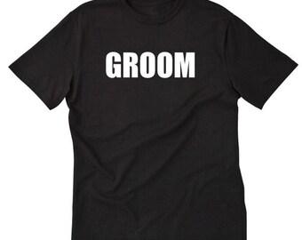 Groom T-shirt Funny Mister Wedding Groom Honeymoon Husband Wedding Gift Idea Tee Shirt