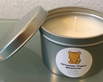 Soy Candle - Crisp Cotton