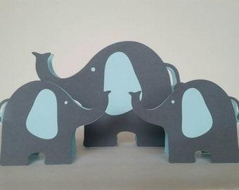 Free Standing Elephants Centerpiece, elephant party, elephant shower, elephant centerpiece, elephant birthday, elephant decoration, birthday