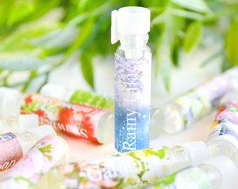 Perfume Sample - Cologne Sample - Fragrance Samples - Trial Size Stocking Stuffer - Scented Coconut Oil - Perfume Oil Test - Small Gift