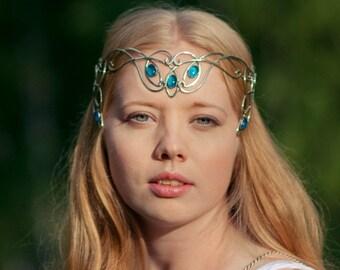 Elven tiara diadem medieval crown Amarie