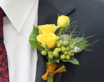 rose wedding boutonniere,bridal accessories,artificial flowers