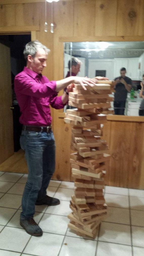 2x4 giant jenga set