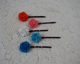 Rose Hair Pin Set