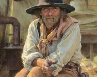 Lil Grizz Hat - low crown felt hat - mountain man hat - rendezvous hat - Bridger hat - fur felt hat - beaver fur hat - Mt Man Rendezvous Hat