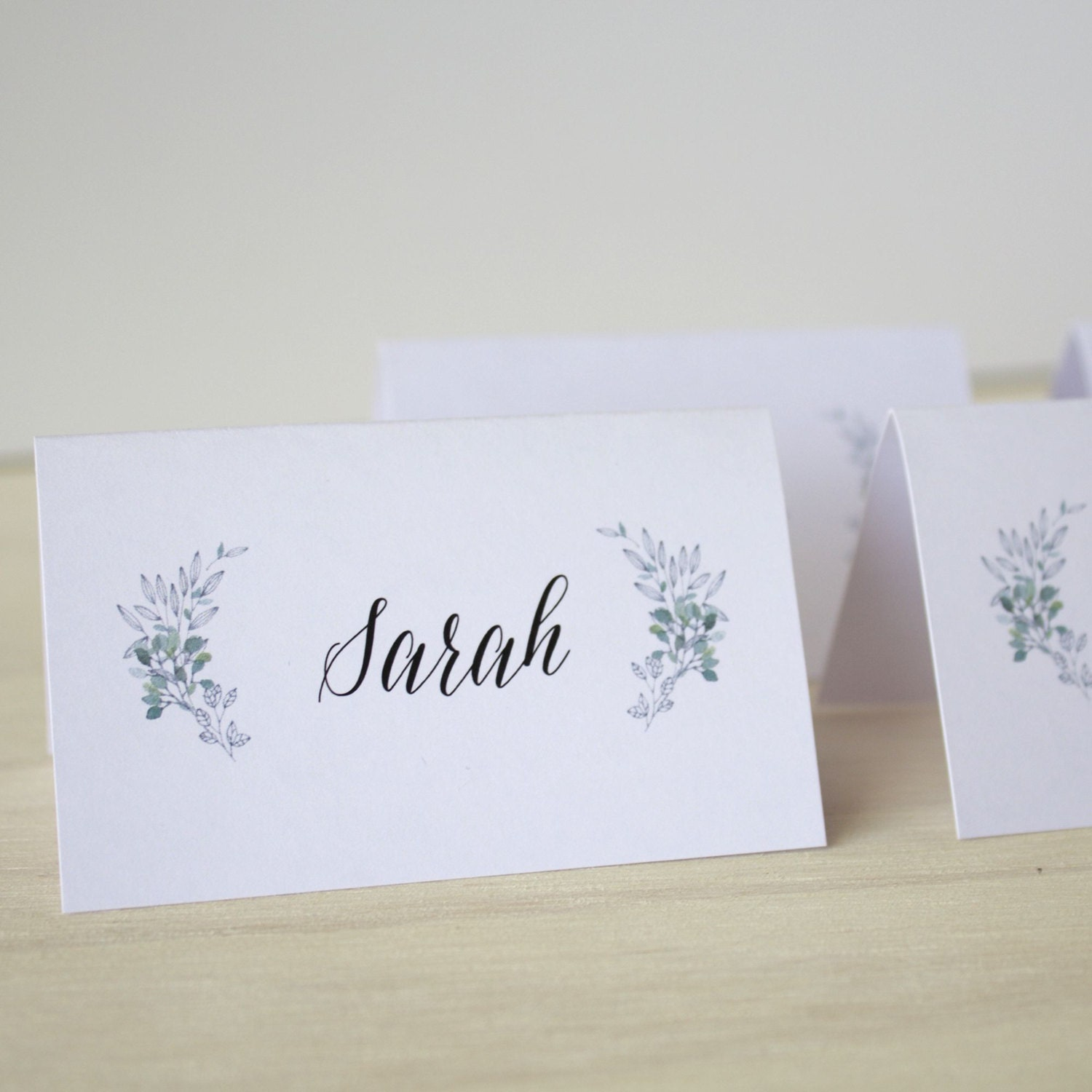 wedding guest place cards place card tags diy escort place cards