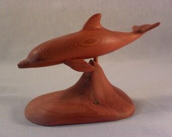 WC1 Red Cedar Dolphin