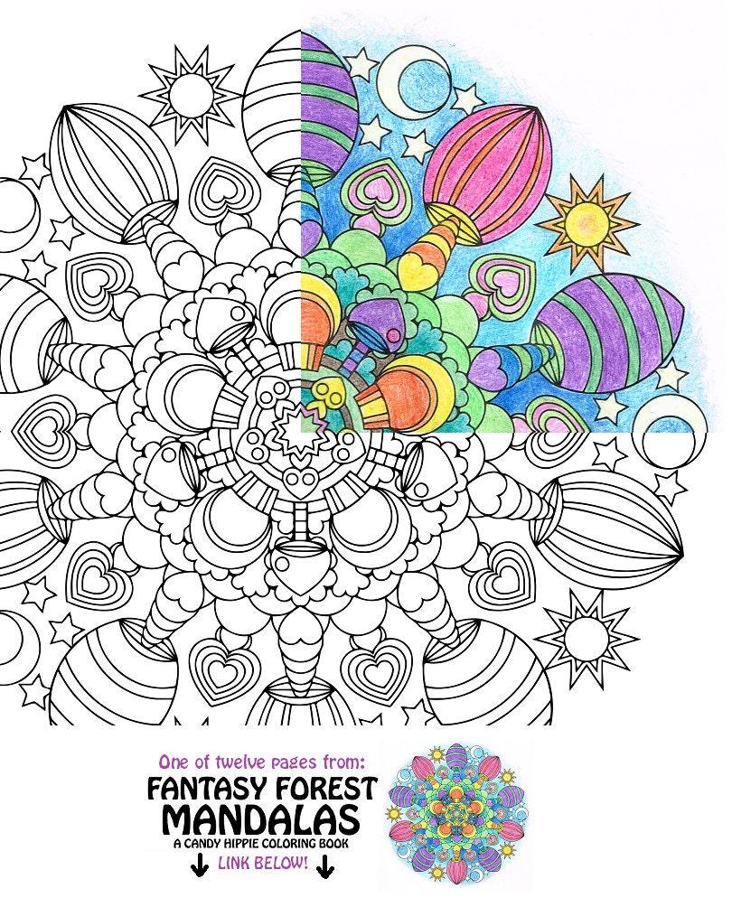 Pagina da colorare di mandala da colorare pagina funghi - Lederhosen pagina da colorare ...