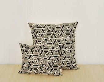 Cushion Hexa / cotton-linen