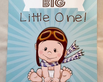 Personalised New Baby Boy/Girl A4 Print
