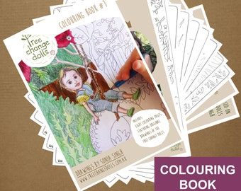 Tree Change Dolls® Colouring Book, original drawings by Sonia Singh