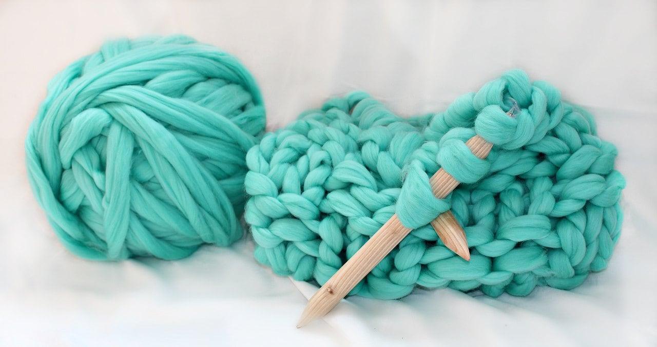 Knitting Diy Kits : Chunky kit make your own blanket diy knit