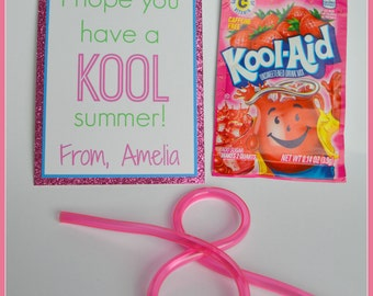 End of Year Classroom gift - Have a Kool Summer