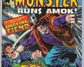 Frankenstein 13 Nov 1974 VF+ (8.5)