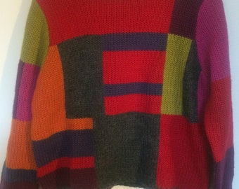 Vintage Boxxy Knit Sweater
