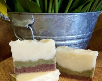 All-Natural Bergamot Lime Handmade Vegan Soap