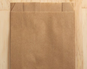 Set of 25 Kraft envelopes 12 x 19 cm, gift package