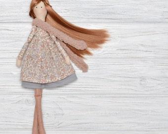 Cloth doll Daughter gift Handmade dolls Little girl gifts Cloth dolls Tilda doll Rag doll Fabric dolls Niece gift Gift for niece Soft dolls