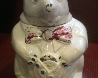 Vintage McCoy Bear Cookie Jar -