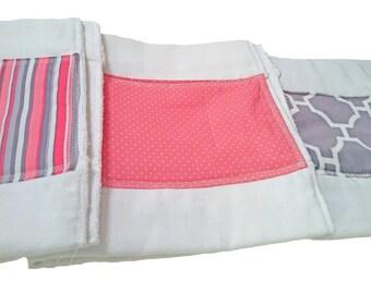 Burp Cloth, Burp Cloth Set, Baby Burp Cloth, Burp Clothes, Baby Gift, Baby Shower Gift, Diaper Burp Cloth, Pre-fold diaper