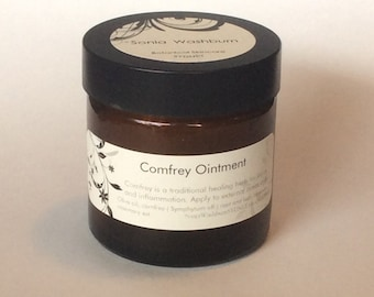 Comfrey Ointment, Organically grown herb
