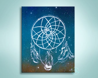 Mandala painting inspirational painting spray by kanoelaniart for Dream catcher spray painting