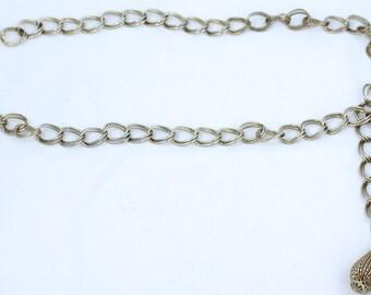 Vintage Silver Hip Chain