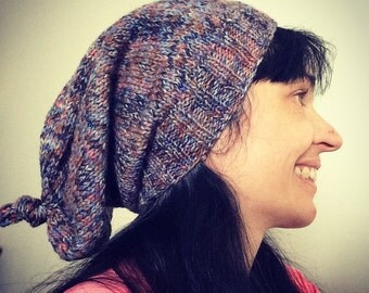 PDF Pattern women slouchy knotted hat