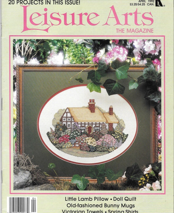 Knitting Quilt Magazine : Cross stitch magazine knit and crochet s leisure arts