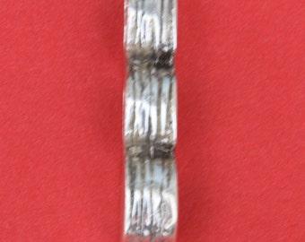 MADE IN EUROPE licorice zamak cord end, licorice clasp, licorice strand separator (6550) Qty1