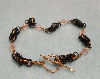 Blushing Midnight Bracelet