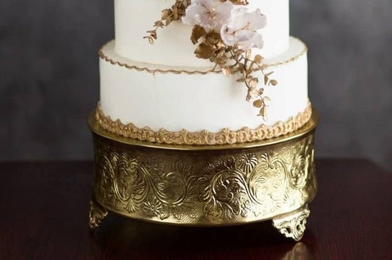 18 round gold wedding cake stand gold cake stand 18 aluminum cake stand by 10077
