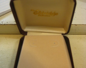 large earring gift box NOS