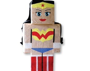 Wonder Woman Super Hero Party Pinata