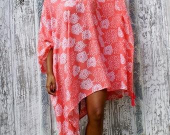Poncho Tassels/Loose fit short Dress/Bohemian short dress/Summer poncho/Beach Wear * LOOSE PONCHO SAUE
