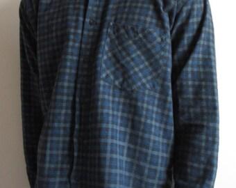 Vintage Mayne  Plaid Shirt