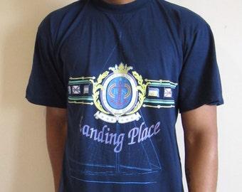 Vintage Landing Place T-Shirt