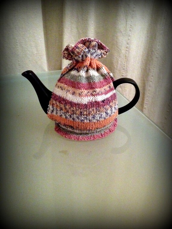 Knitting Pattern Instant Download PDF Tea Cosy Fair Isle